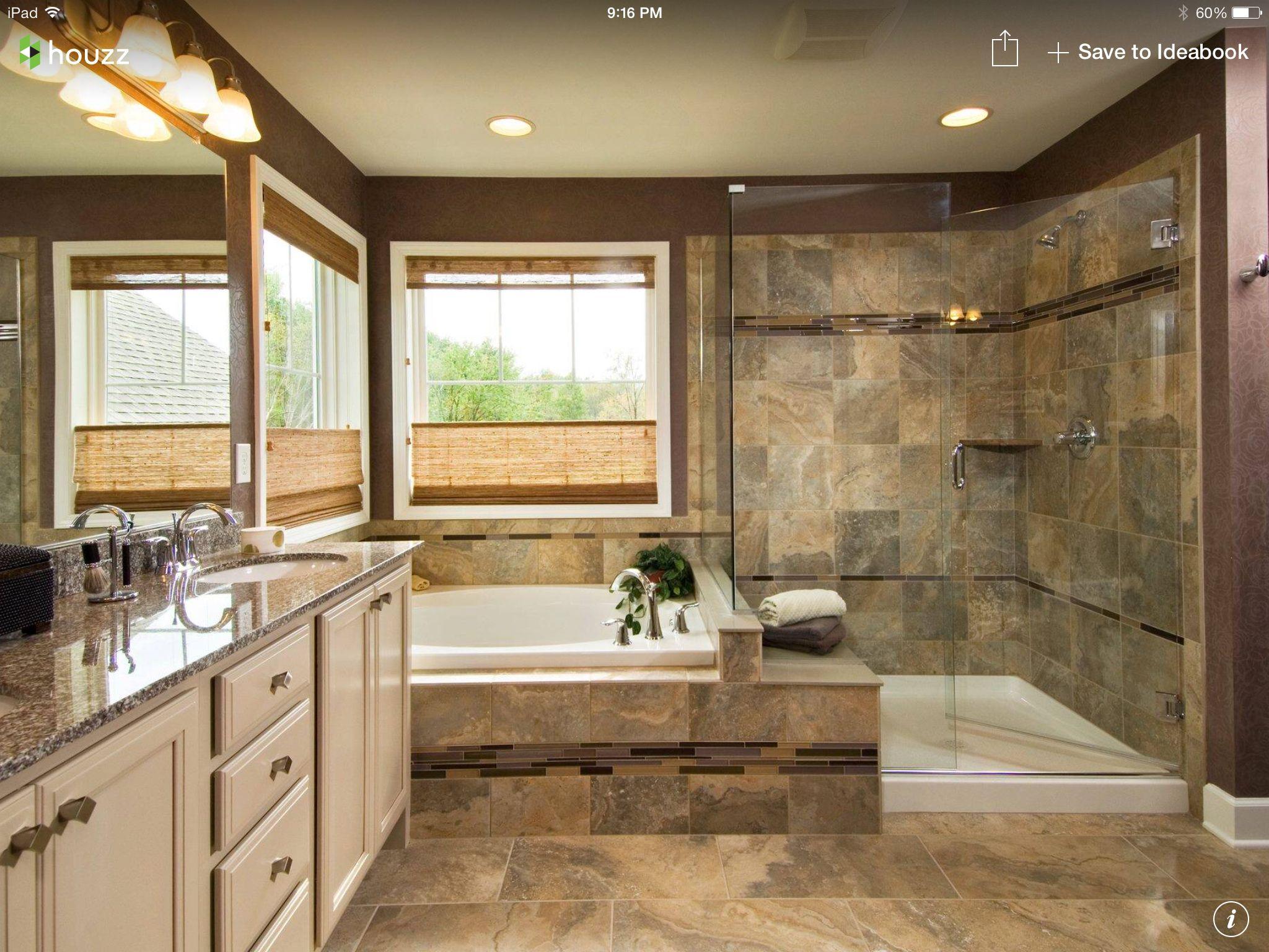 5 piece master bath remodel