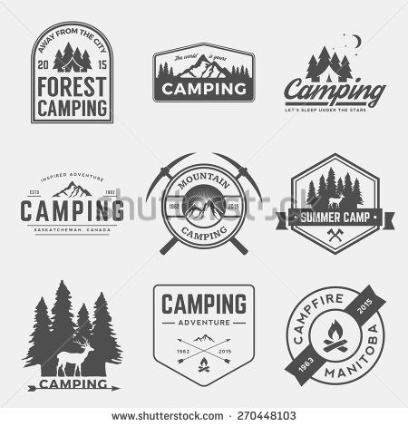 camping and outdoors logo design design inspiration logos logo