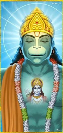 Lord Bajrang Bali Hd Painting God Wallpaper Lord Hanuman Images