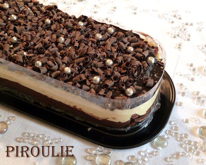 L'Andalousie de la maison du chocolat : un d�licieux entremets au chocolat et au citron sans farine ni gluten