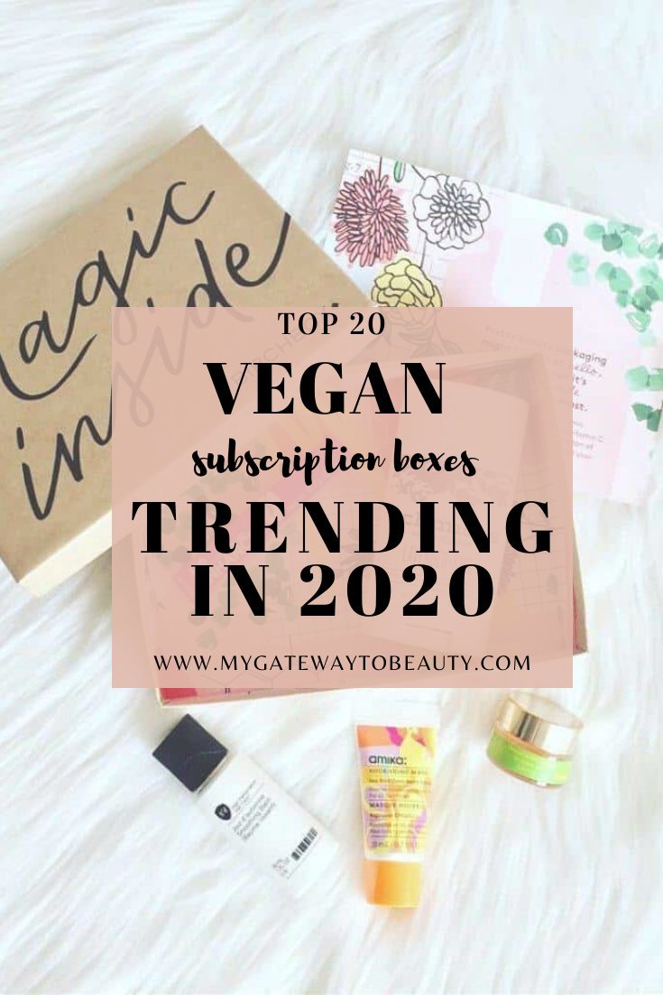 What are the 20 best vegan beauty subscription boxes