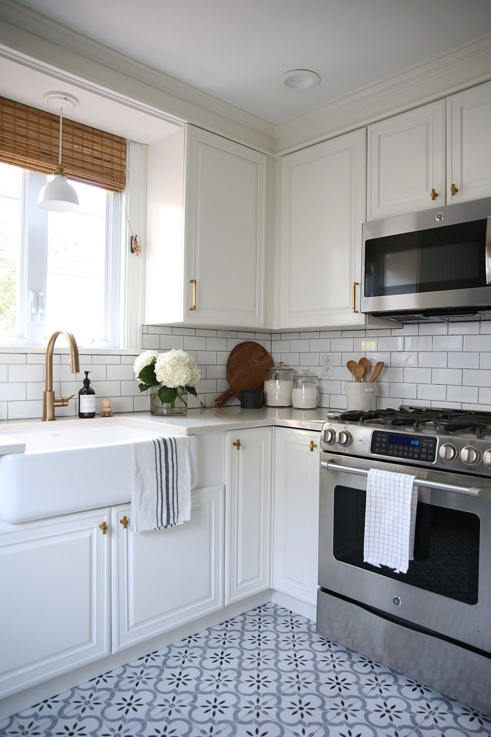 Classic white kitchen reveal room for tuesday