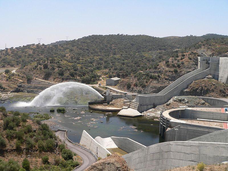 """""""Barragem de Alqueva"""". """"Rio Guadiana"""". # Aldeia de Alqueva, Região do Alentejo. Portugal."""