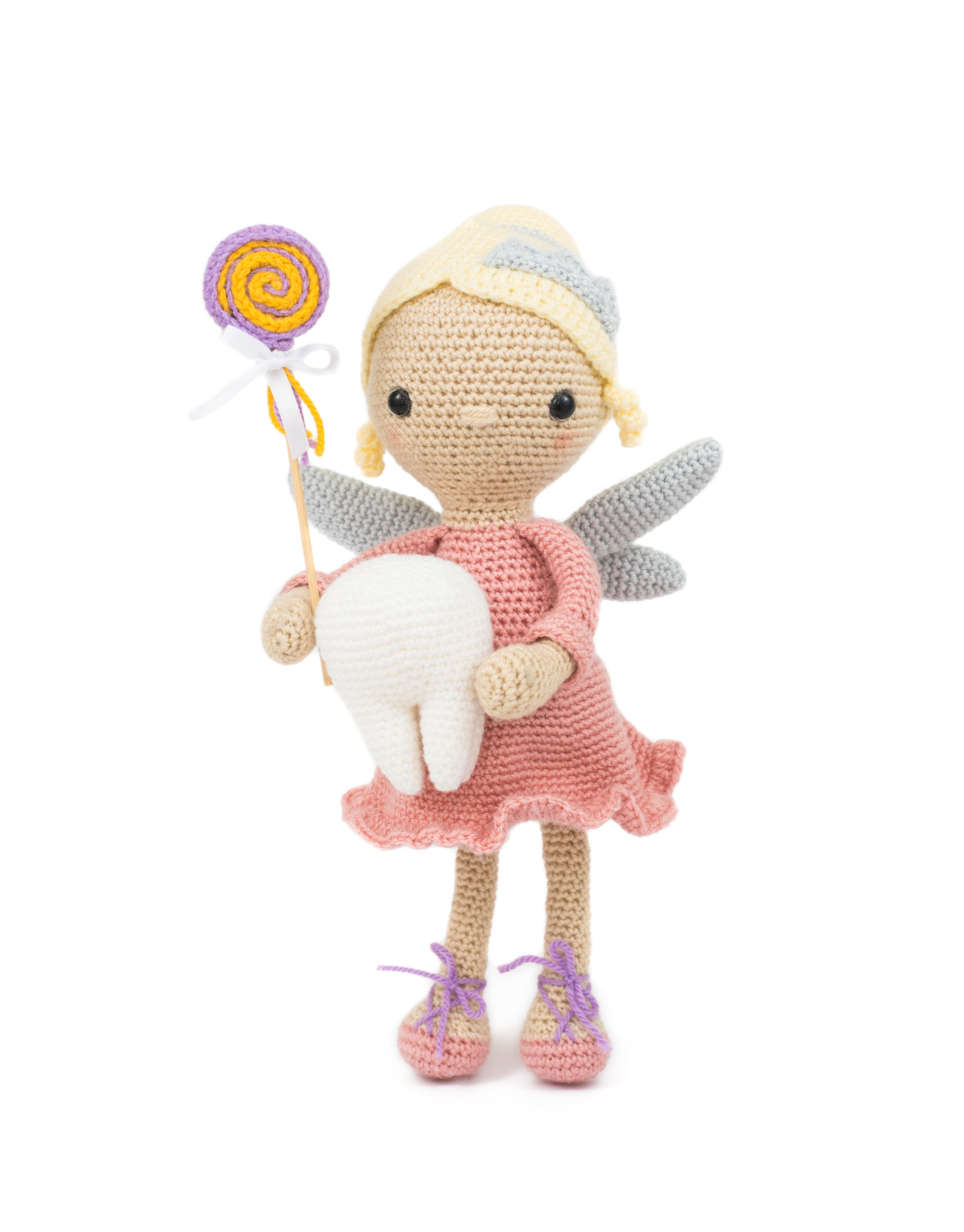 Tooth fairy crochet pattern by Hello Yellow Yarn, part of the book ...