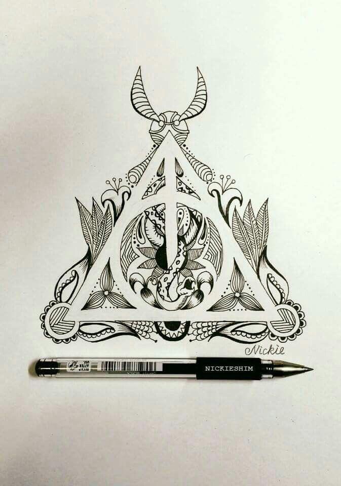 Pin Von Locke Evita Auf Harry Potter Ideen Fürs Zeichnen Tattoo