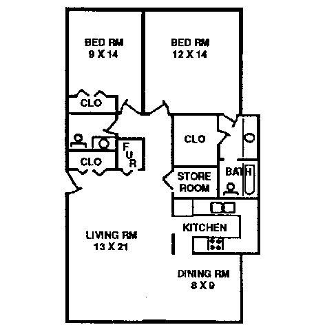 Awesome 2 Bedroom Apartment Floor Plan | Apartments / 2 Bedroom Apartment Typical  Floor Plan