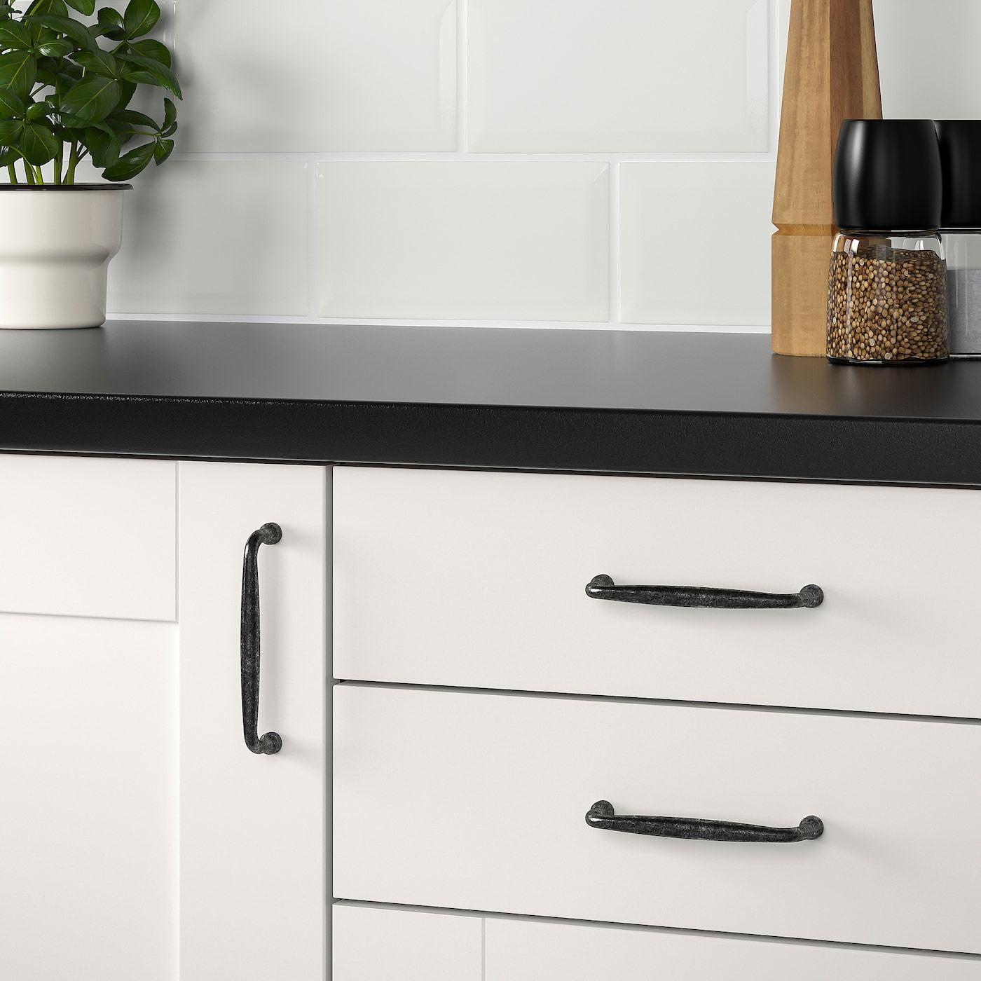 """MÖLLARP Handle black 4 3/16 """" Ikea, Kitchen door"""
