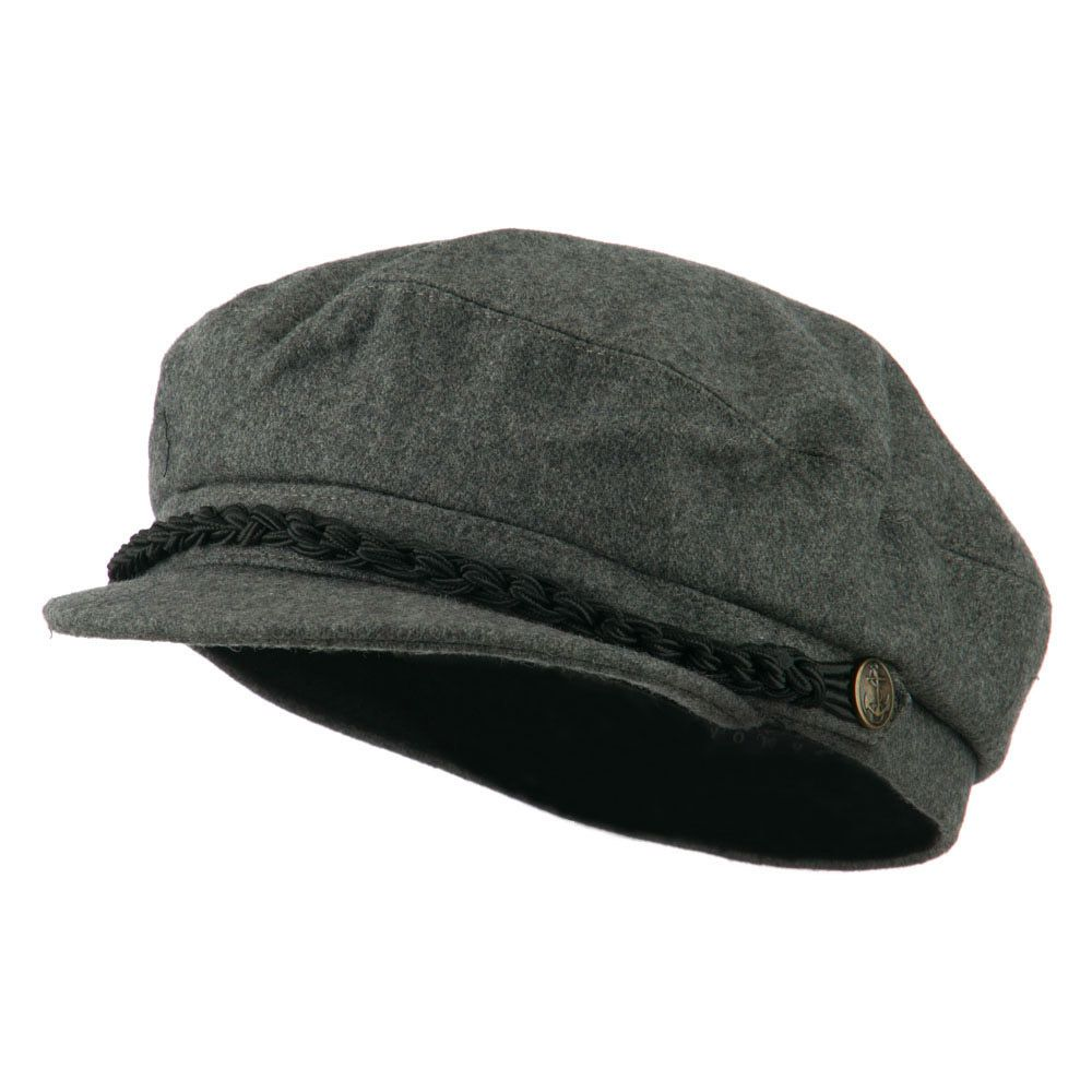 Greek Fisherman Hat - Light Grey - Hats and Caps Online Shop - Hip Head Gear 0bba715c970