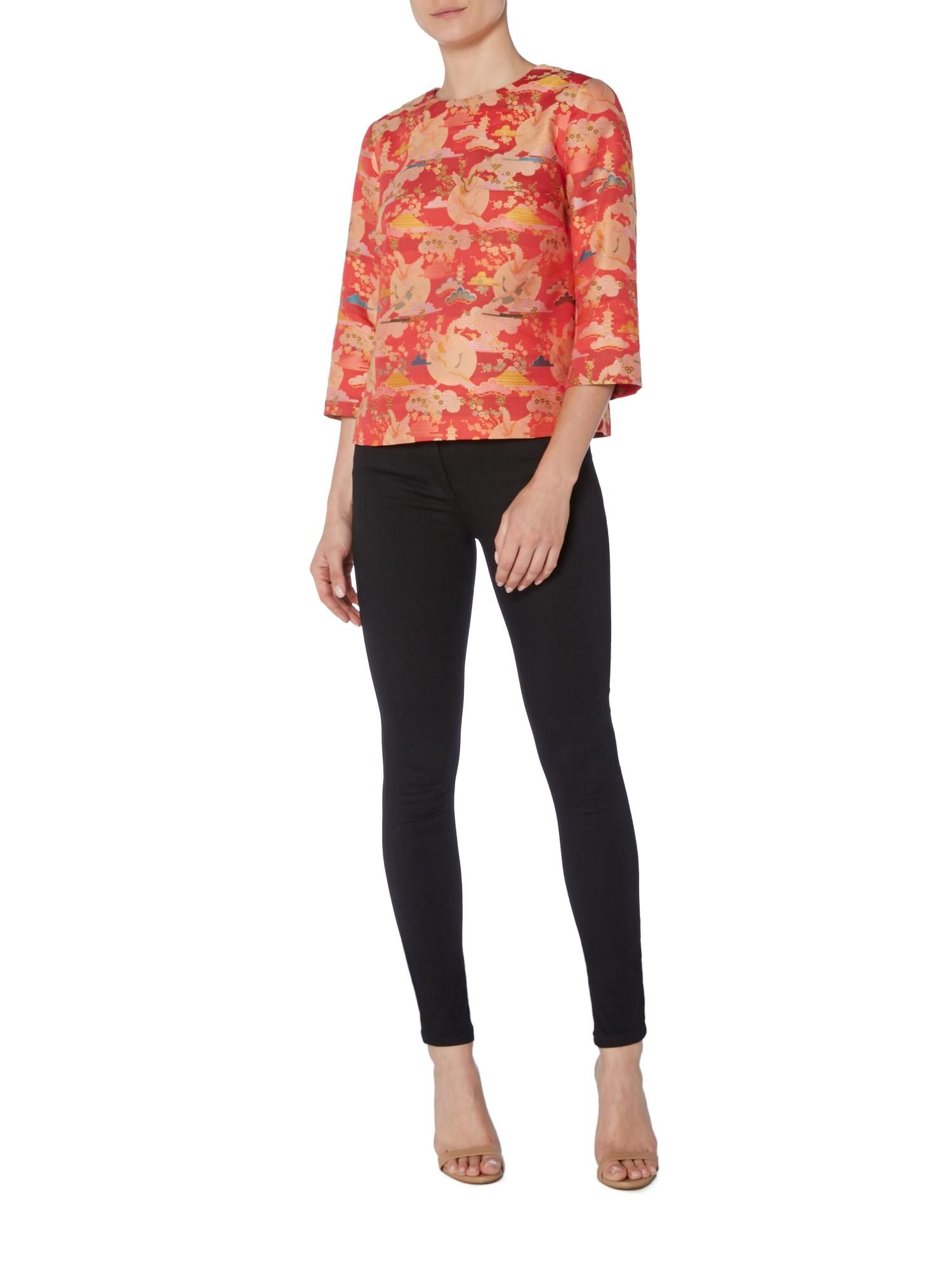 2530566620c786 Buy your Biba Jacquard Oriental Boxy Shell Top online now at House of  Fraser. Why not Buy and Collect in-store?