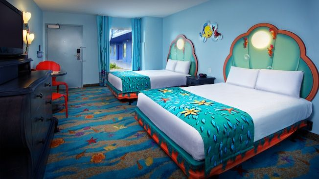 The Little Mermaid Standard Room Wheelchair Accessible With Tub