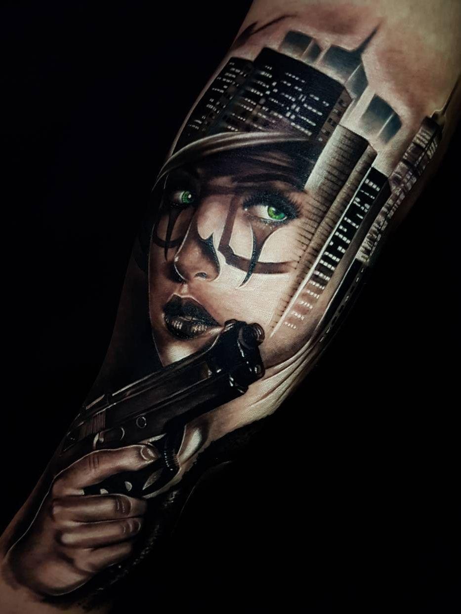 Realistic Tattoos With Morphing Effects By Benji Roketlauncha Arm Tattoo Art Tattoo Tattoos