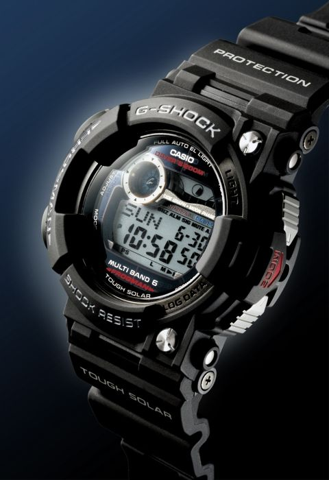 b105539890 Casio G-Shock Frogman GWF1000-1 with Dive Time Measurement Mode ...