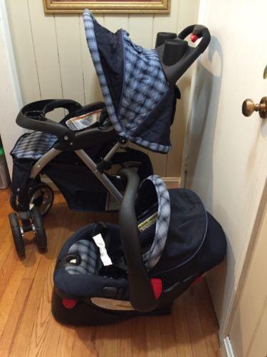 Eddie Bauer Stroller Car Seat Combo Travel System Blue