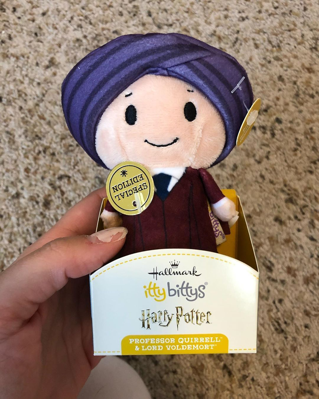 Pppppooor Ppppprofessor Qqqqqquuuirrell The Best Part About This Itty Bitty Is That When You Take Off The Turban Voledemort Is Revel Itty Bitty Itty Bitty