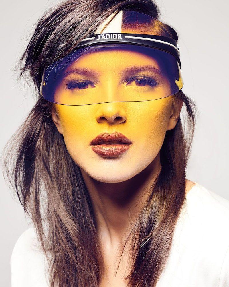 22493c794d HOT Summer'18 Trend from Dior - Dior Visor Club 1   Visor- Hats ...