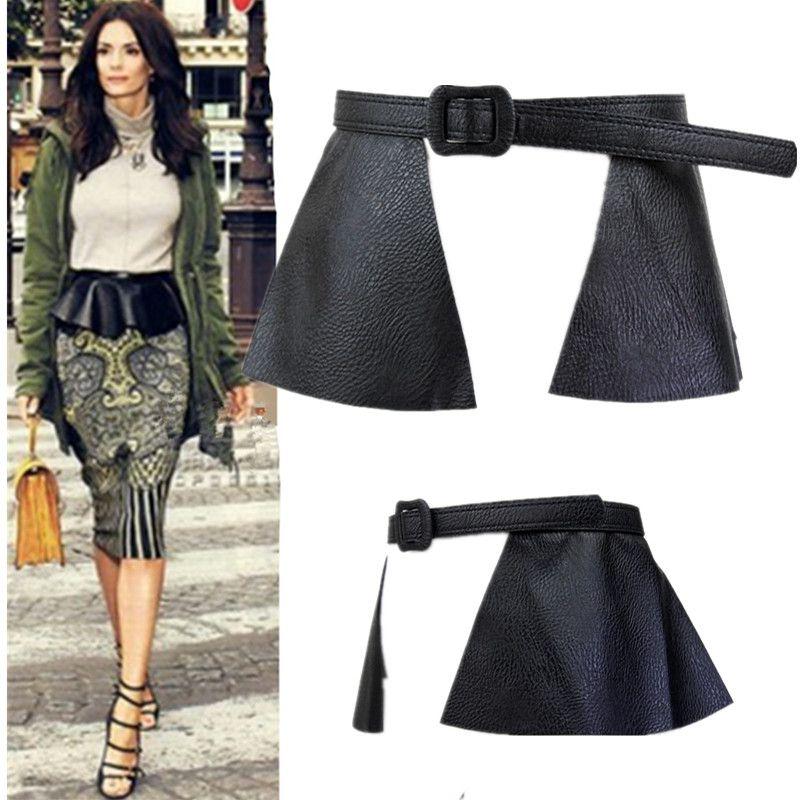 Fashion new arrival ruffle skirt peplum cummerbund decoration skirt belt strap chromophous x72