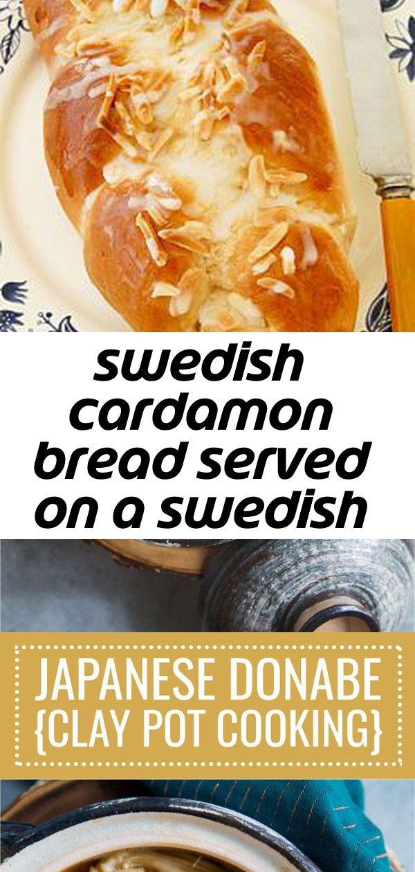 Swedish cardamon bread served on a swedish style plate. 2 #cardamombuns
