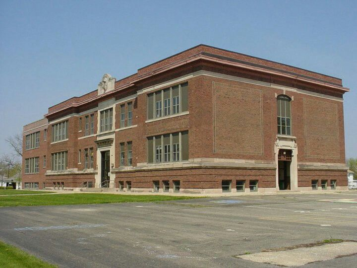 Lincoln School Mattoon Illinois I Went To School Here
