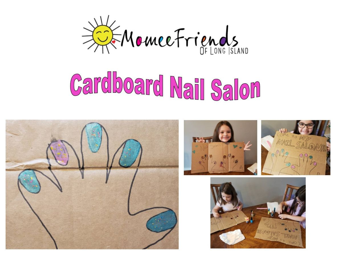 Cardboard nail salon in 2020 kids nail polish kids