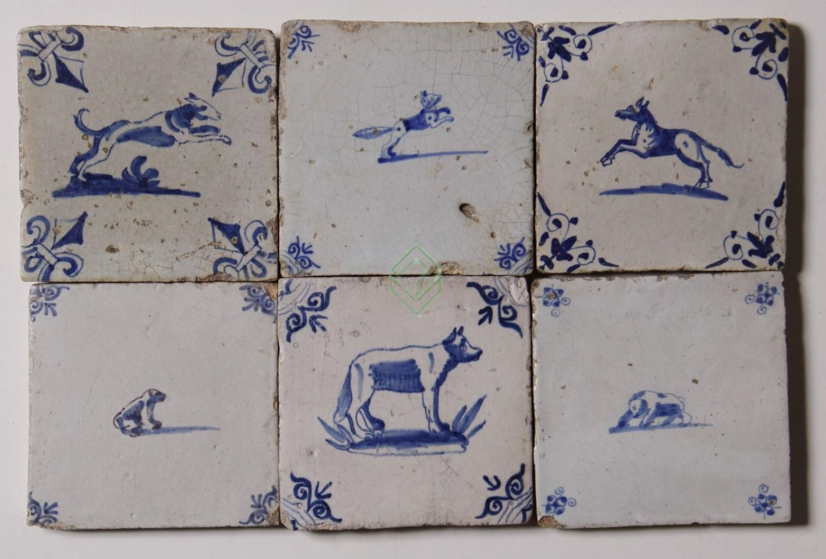 Delfts Blauwe Tegels : Delft ouderwetse tegels blauwe origineel antieke eeuw