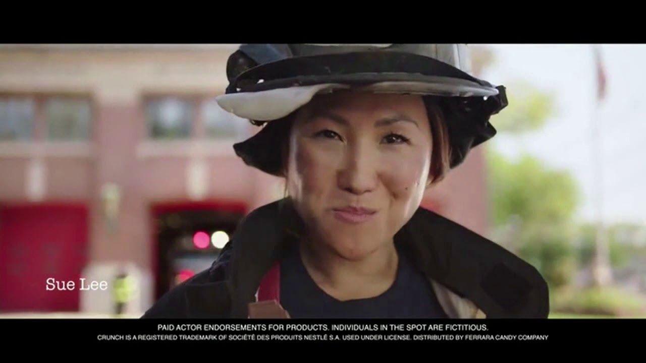Nestle Crunch Commercial (Kasey Marr) (2018) 2 YouTube