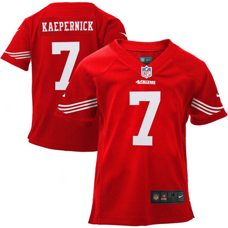 6625180feba Colin Kaepernick San Francisco 49ers Nike Infant Team Color Game Jersey -  Scarlet