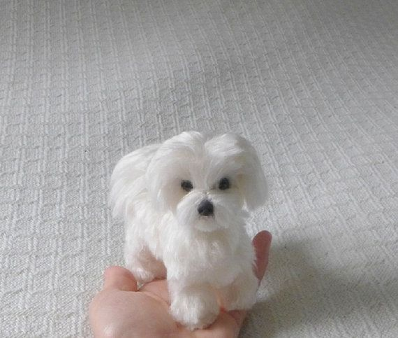 Felted Miniature of your Pet / Custom Pet von GourmetFelted