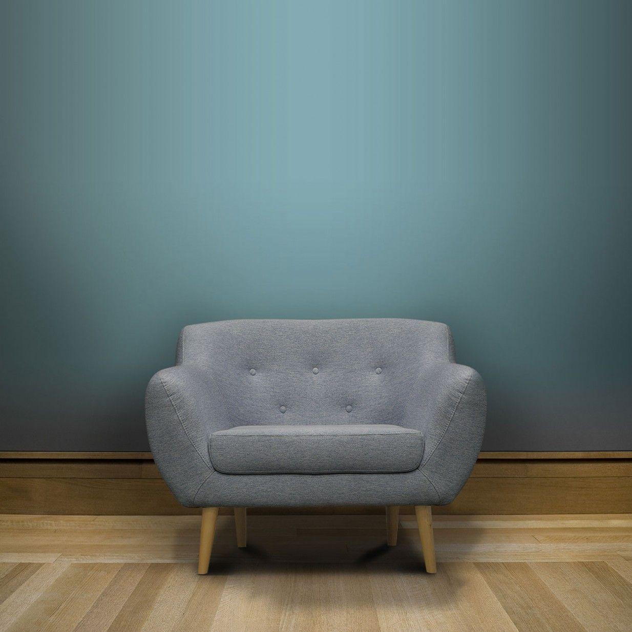 Sicile Sessel Grau Blau Mazzini Sofas Sessel Grau Couch Mobel Sessel