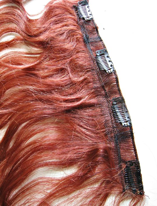 Make Clip In Hair Extensions From A Wig Hairhair Extension Ideas