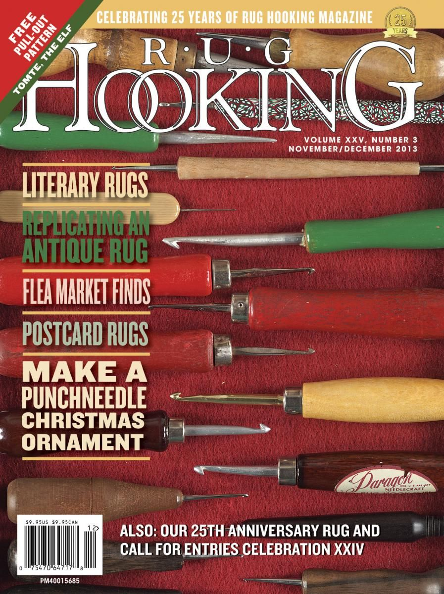Rug Hooking Magazine Traditional Patterns Primitive Rugs Inspiration And More