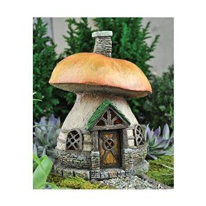 Captivating Amazon.com   Georgetown Home U0026 Garden Fairy Garden Mushroom Cottage    Collectible Figurines