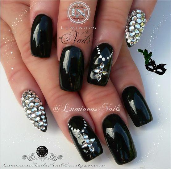 black girl nail designs - Black Girl Nail Designs Nails Art Pinterest Girls Nail