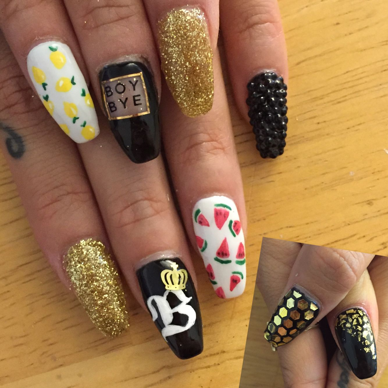 Beyonce Nail Art Nails Pinterest Manicure Makeup And Nail Nail
