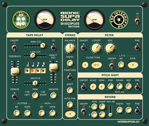 FREE: Bionic Supa Dub Delay VST Plugin By The Interruptor