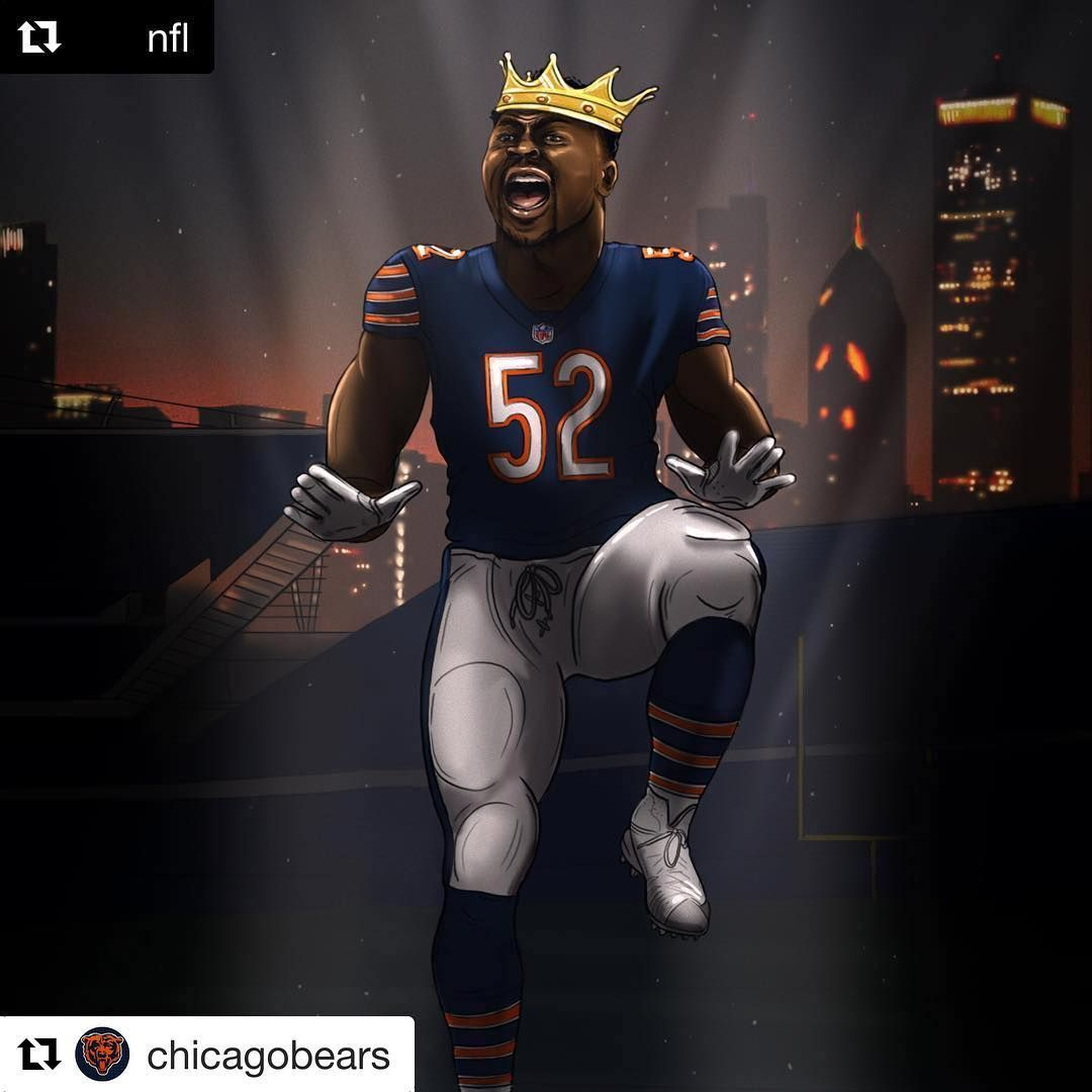 97 Mil Curtidas 0 Comentarios Khalil Mack Fiftydeuce No Instagram In 2020 Chicago Sports Teams Chicago Bears Football Chicago Sports
