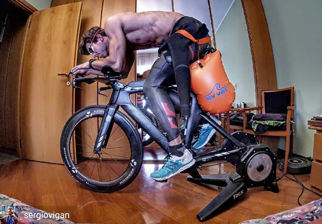 from sergiovigan from Milan Italy . . Triathlon is a
