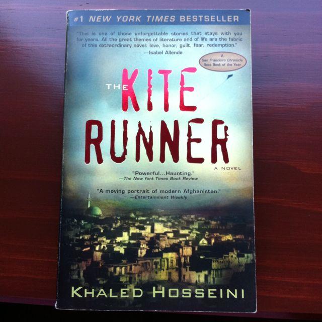 Kite Runner.... Such a good book!!!