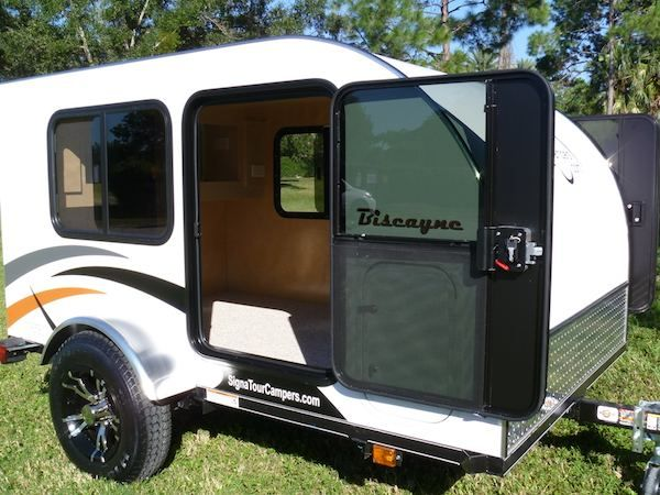 signatour campers hand made teardrop trailers in tampa florida - Small Camper Trailer
