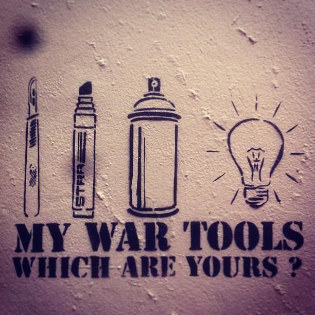 Stra Stencils - Street Artist
