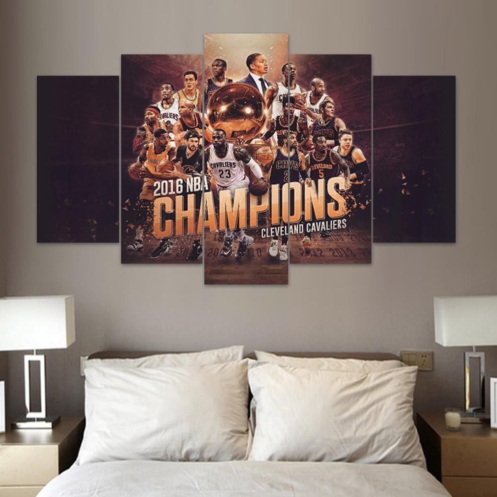 5 panel framed cleveland cavaliers the land nba wall canvas 5 panel framed cleveland cavaliers the land nba wall canvas products pinterest wall canvas the land and nba amipublicfo Image collections