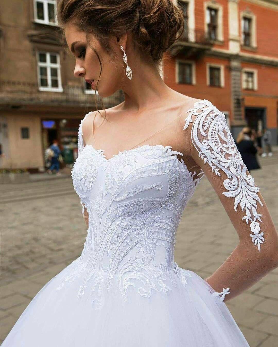 Bridal Style Pic Via At Heradresses At Russianoivas Vestidos