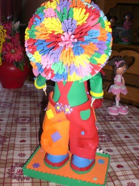 Fofuchas GiGimousse: clown