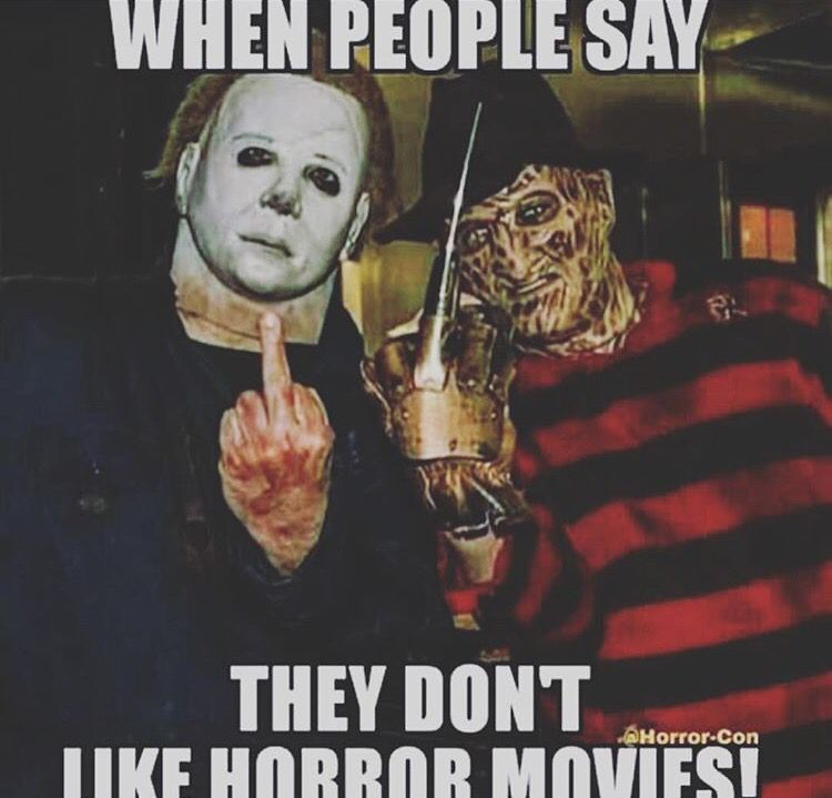 Middle Fingers In The Air Everywhere Horror Movies Funny Funny Horror Horror Movies