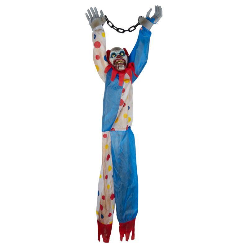 Large moving clown decoration - £15 Asda Halloween Party - asda halloween decorations