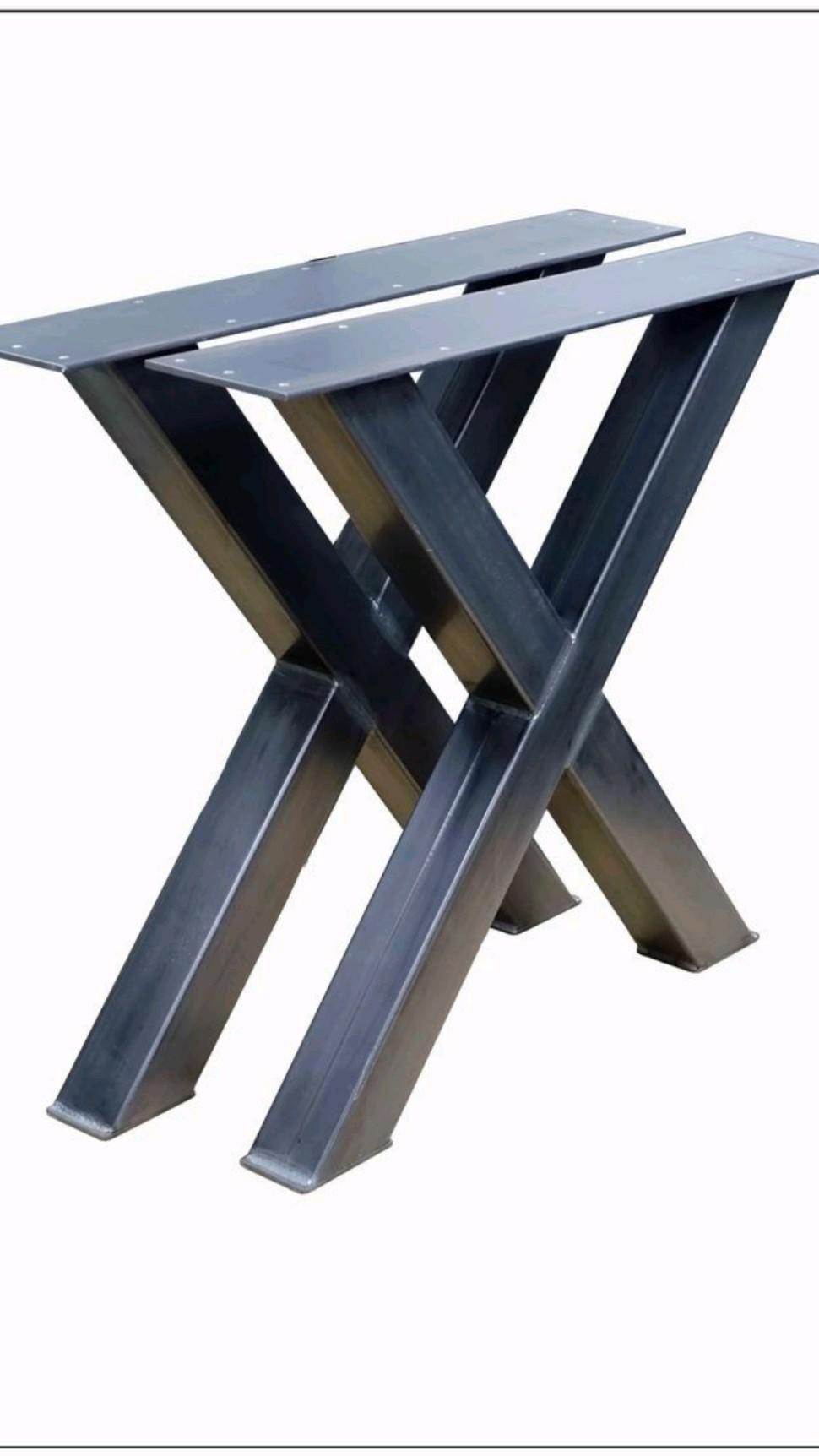Stahl Tischkufen