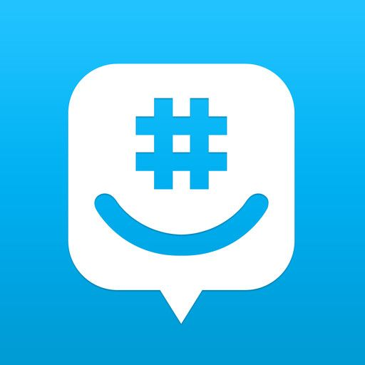 groupme logo icon design favorites app ios app