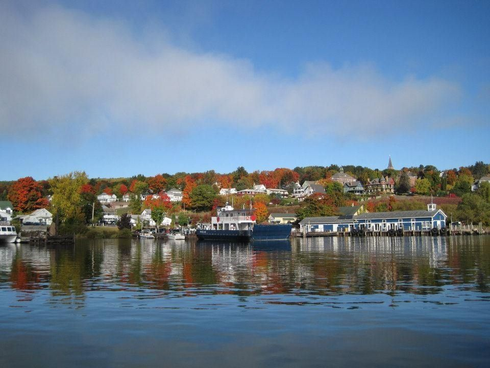 Bayfield wisconsin on the shores of lake superior