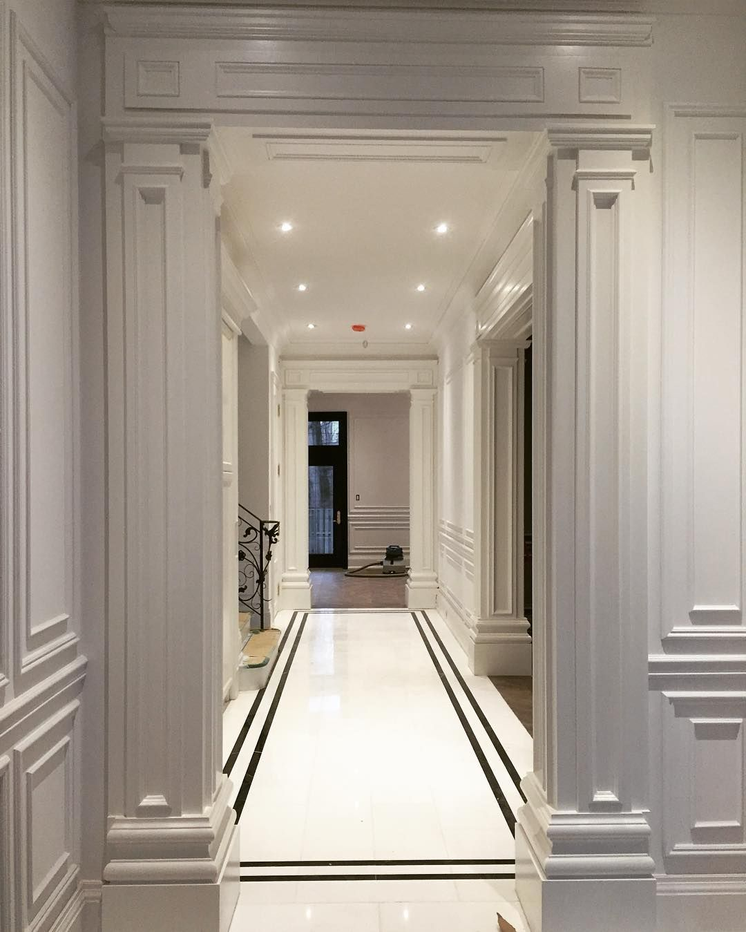 Unique Millwork Wall Covering And: Because You Should Always Make A Grand Entrance