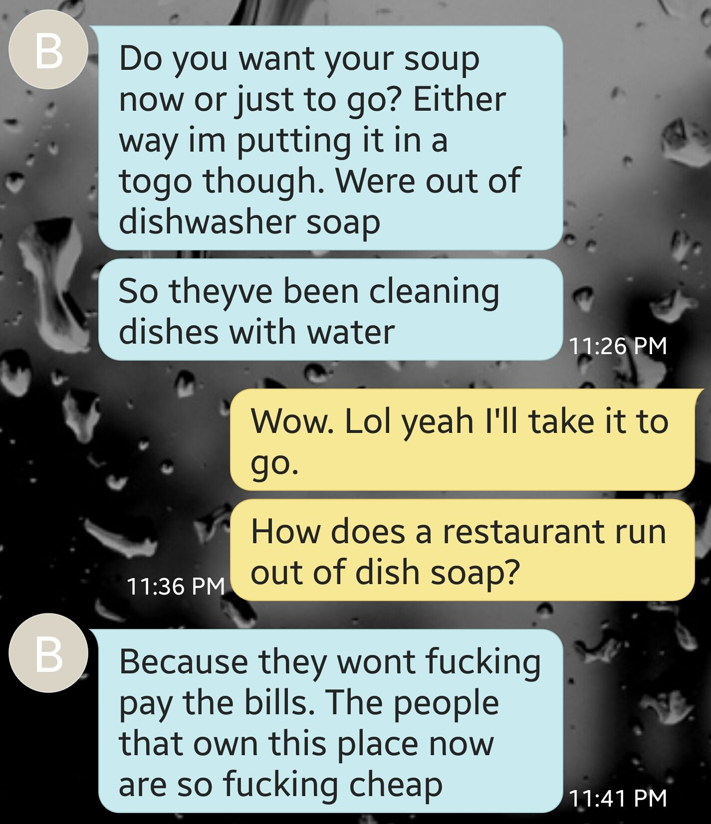 Think it\'s time to find a new job. #kitchenconfidential #SXSW ...