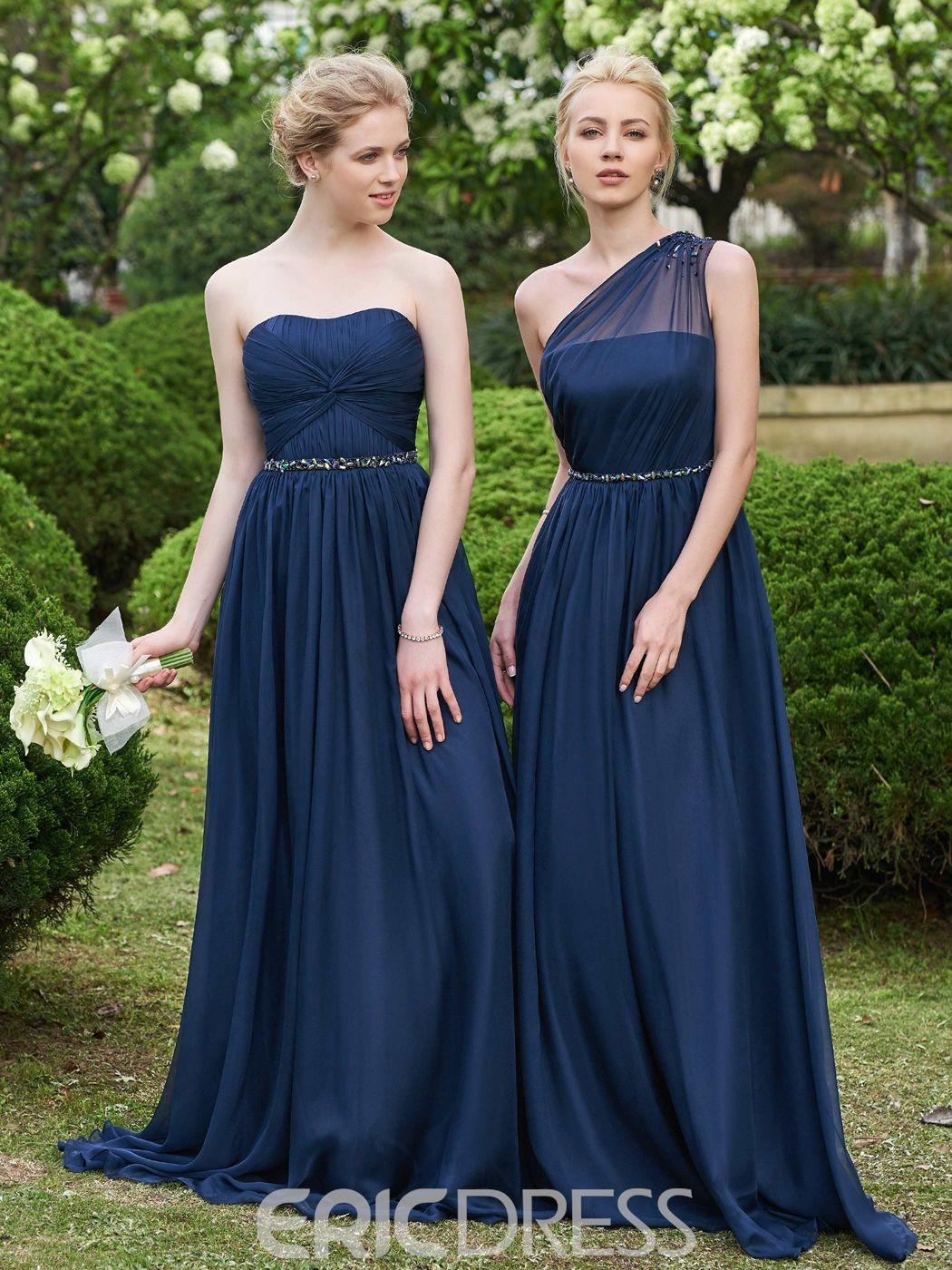 db8bb8f1d75 Ericdress alta calidad largo de Dama de honor vestido 12142682 - Ericdress .com